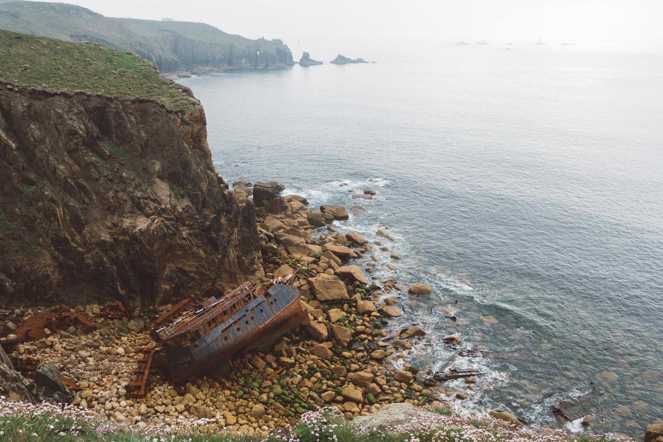 Cornwall shipwreck