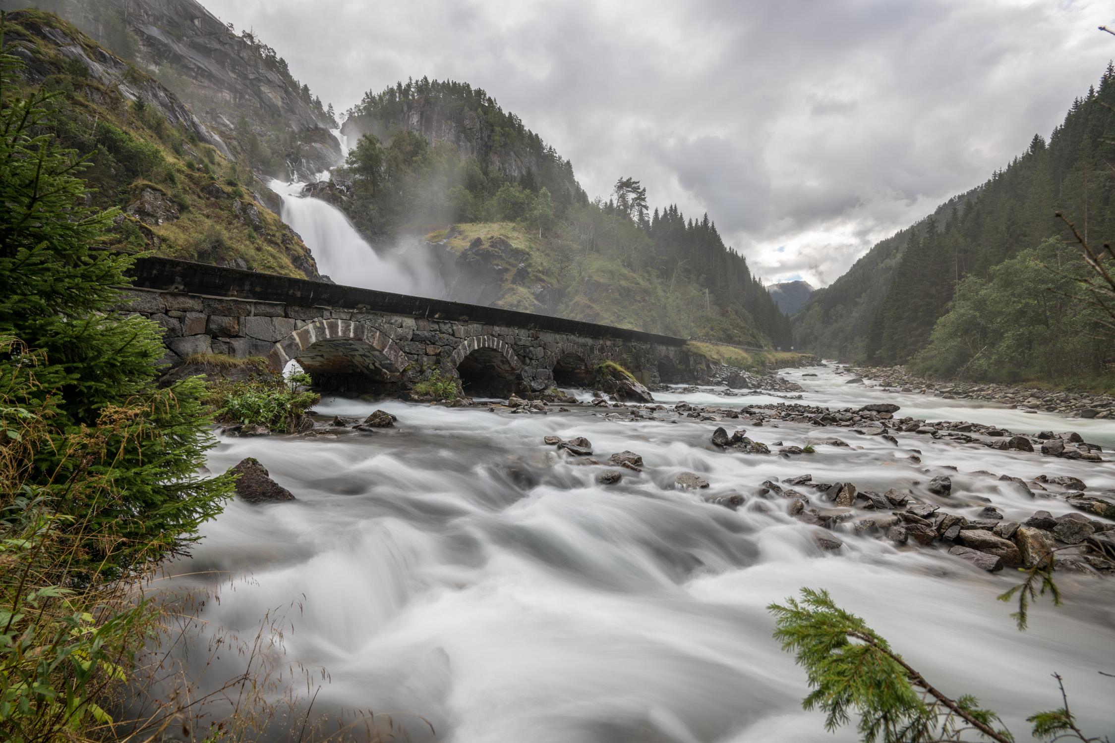 River in Odda