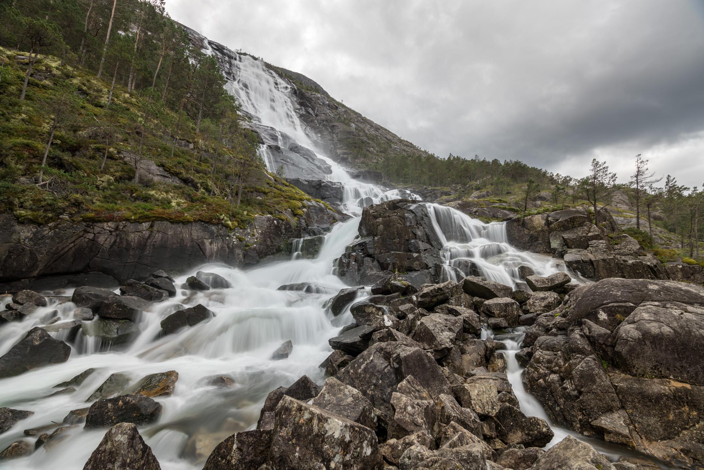 Waterfall in Odda