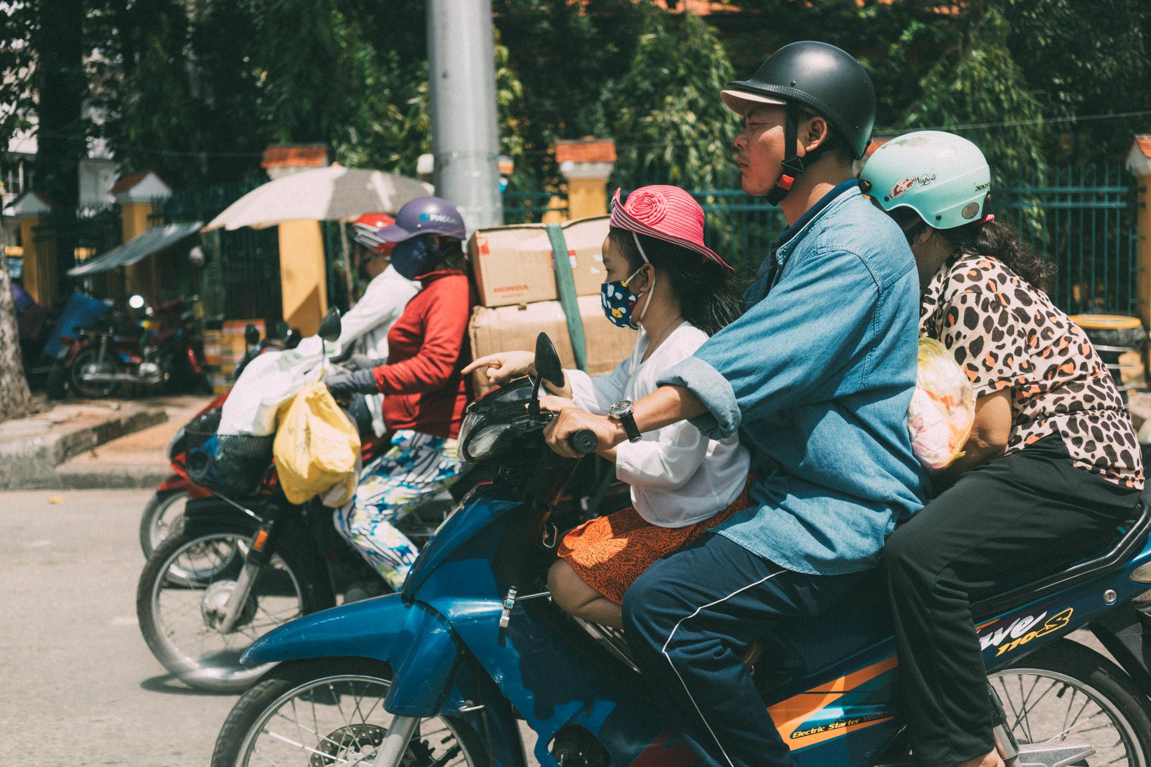 family in HCMC