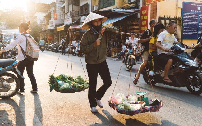 Vendor in Hanoi