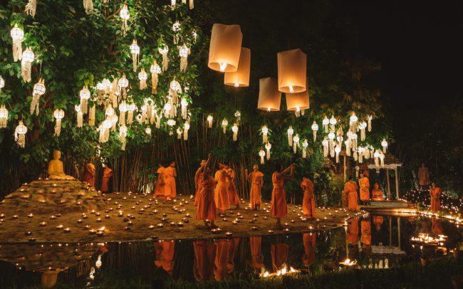 Monks and Lanterns