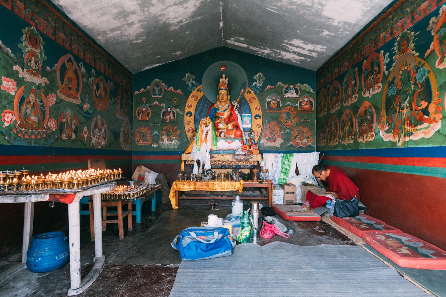 Kathmandu prayer