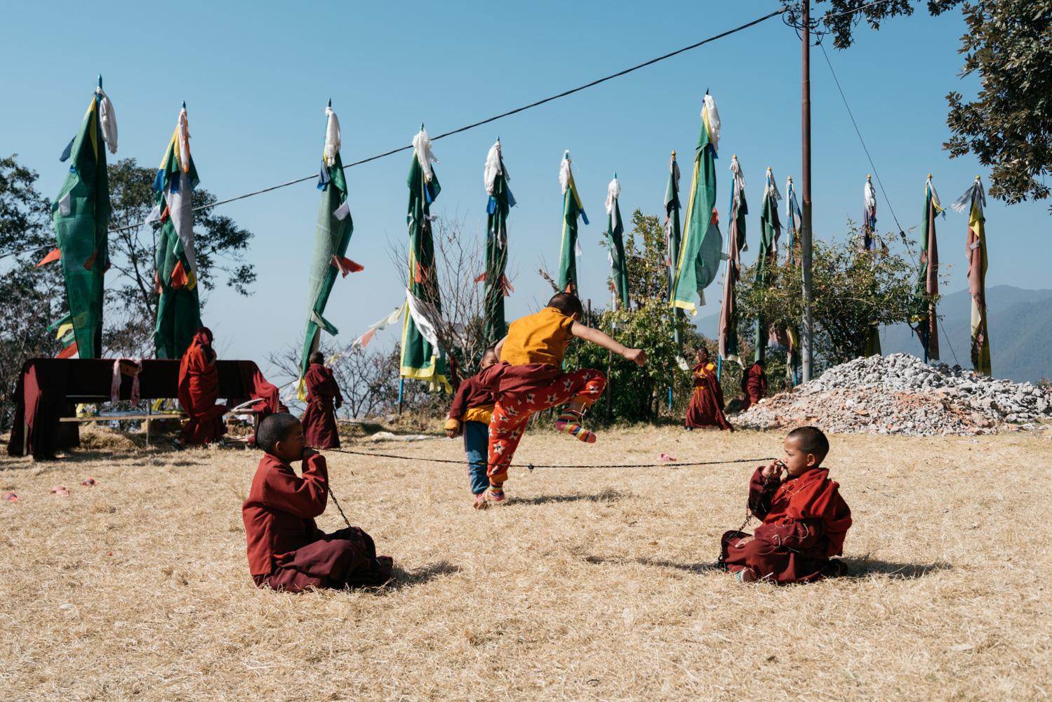 Kathmandu monks