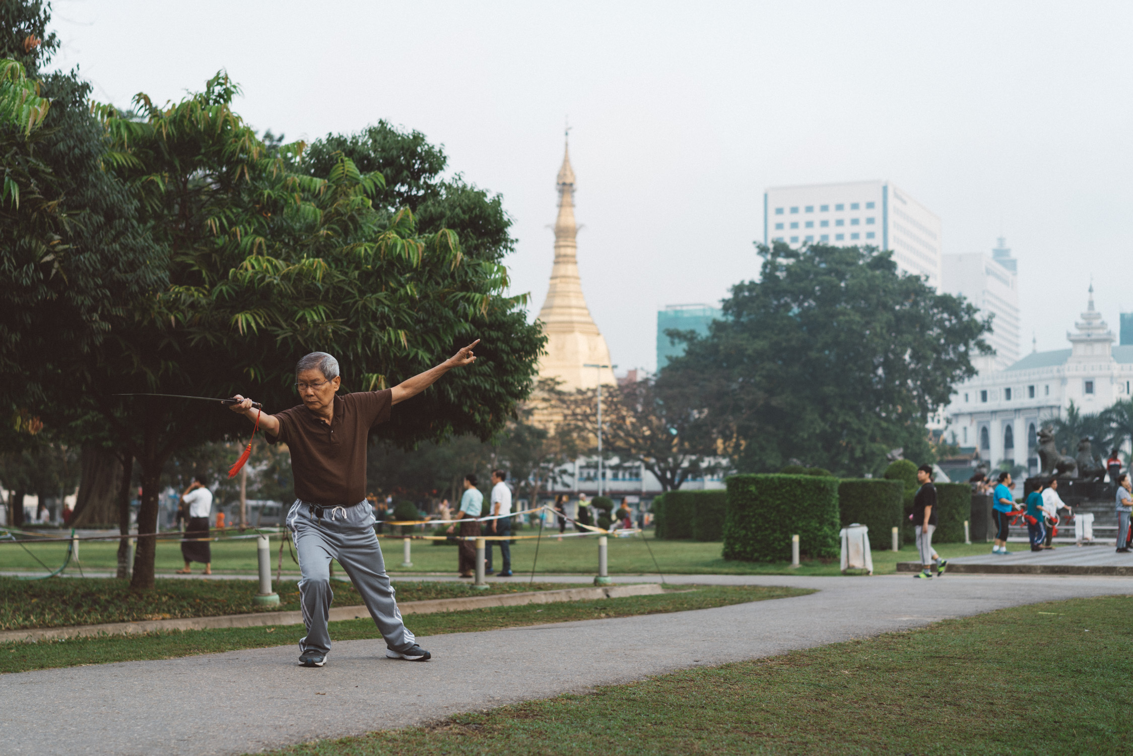 sword training in Yangon