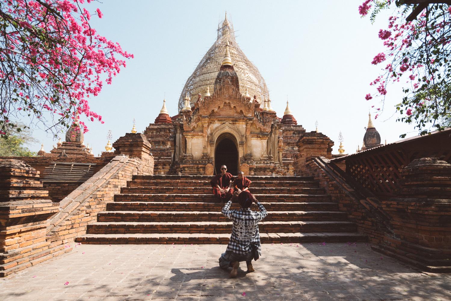 snapshot in Bagan