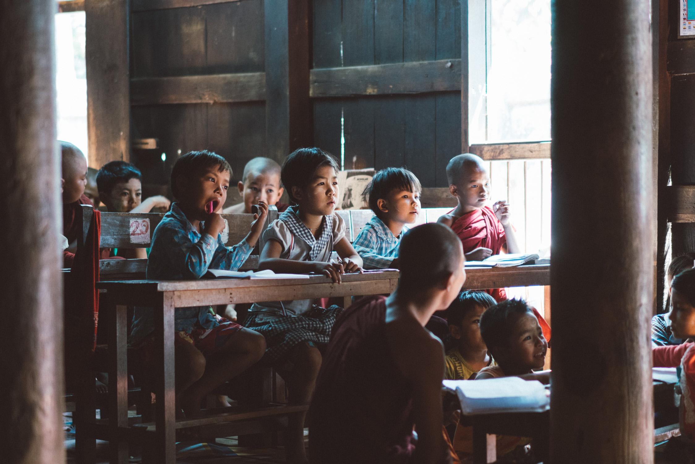hidden school in Myanmar [David Tan]