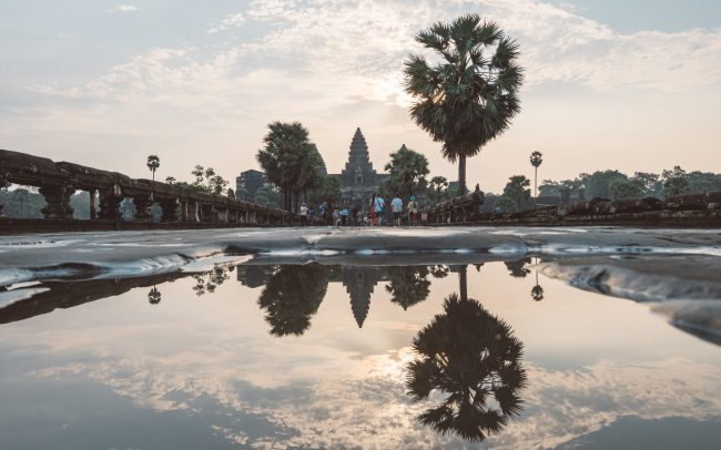 Angkor Wat reflexion [David Tan]
