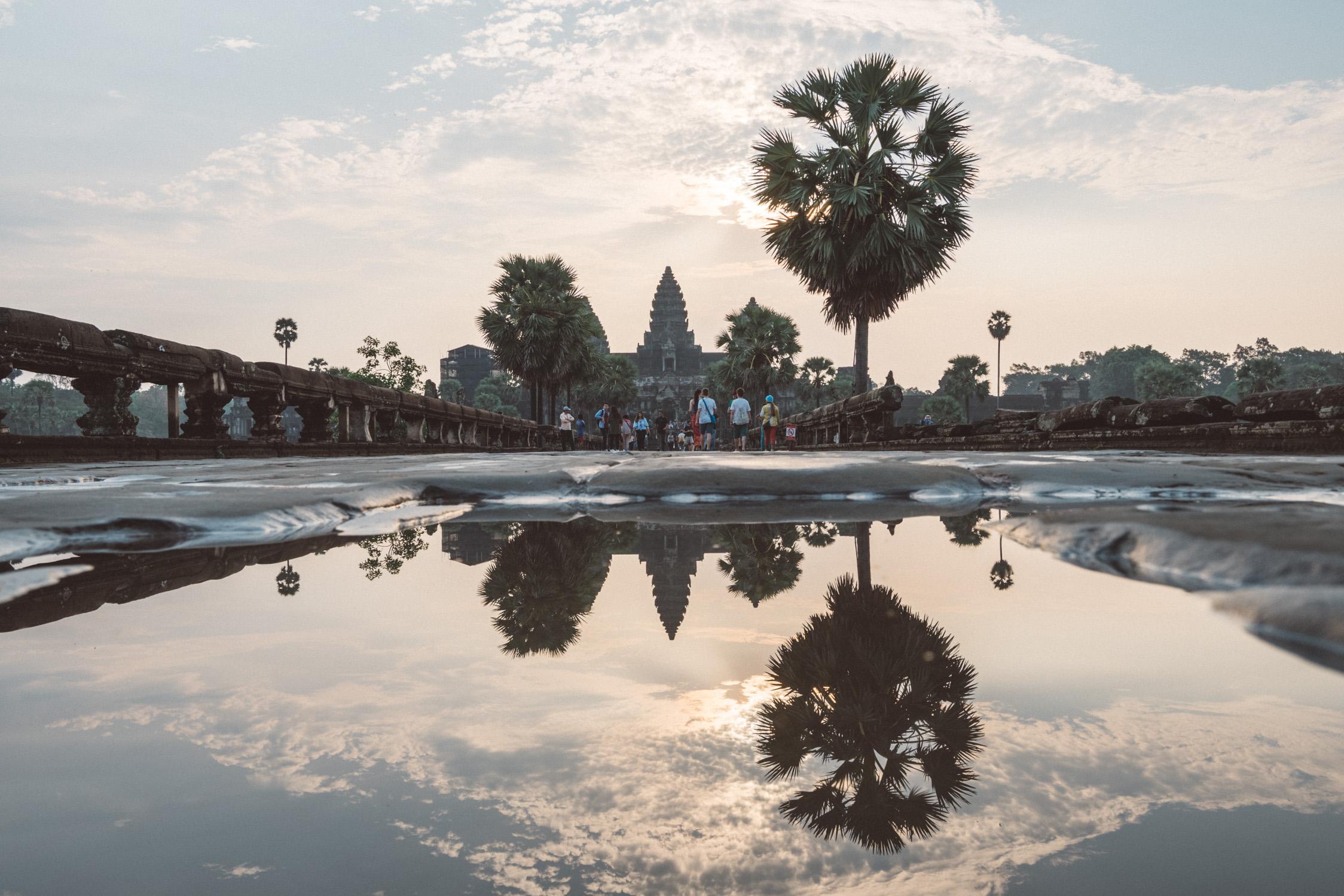 Angkor Wat reflexion [David Tan]