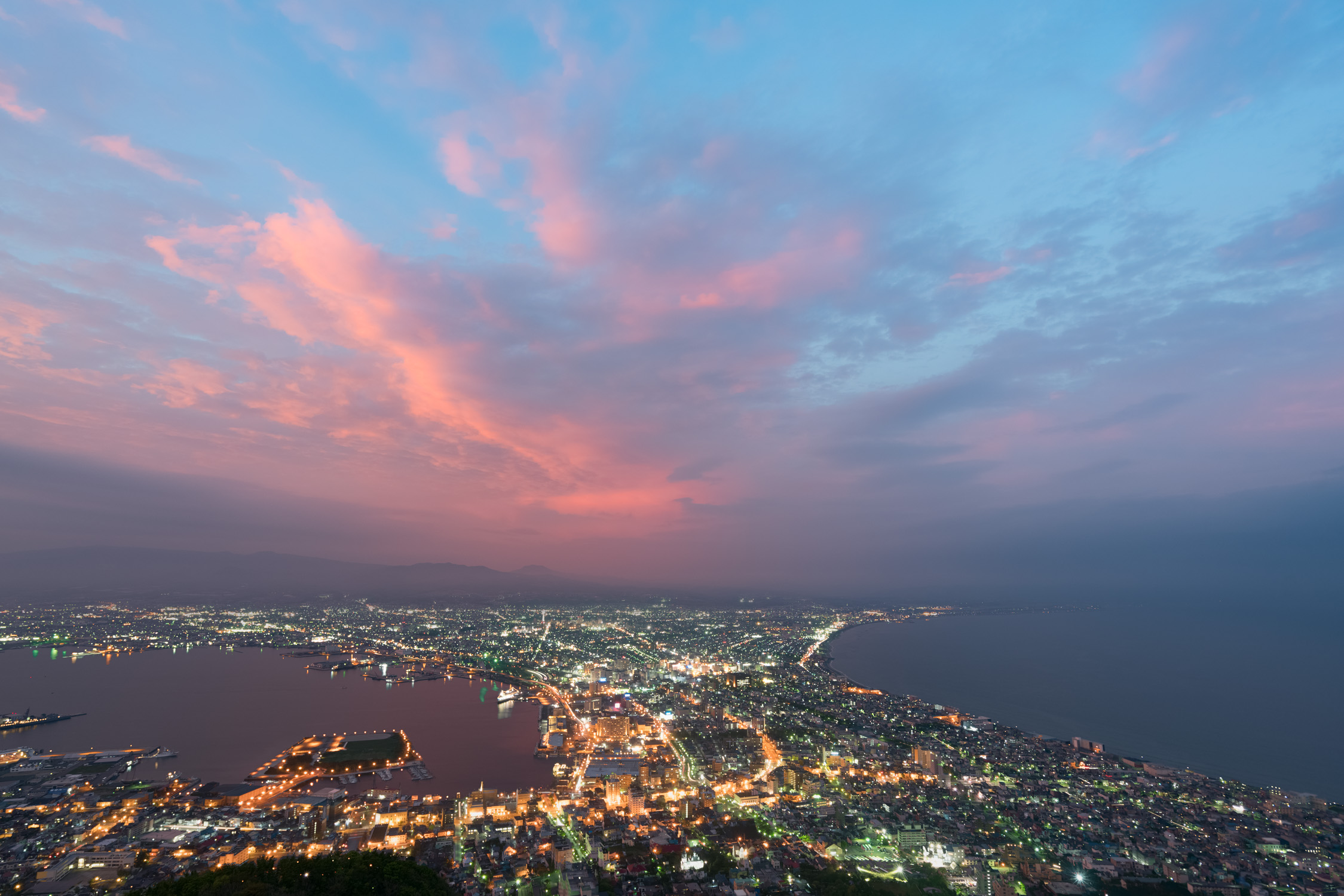 Hakodate during sunset [David Tan]