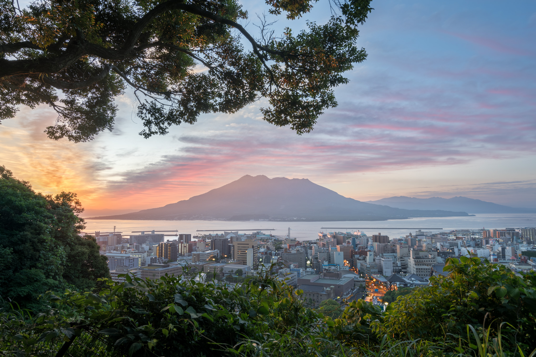 Kagoshima volcano during sunrise [David Tan]