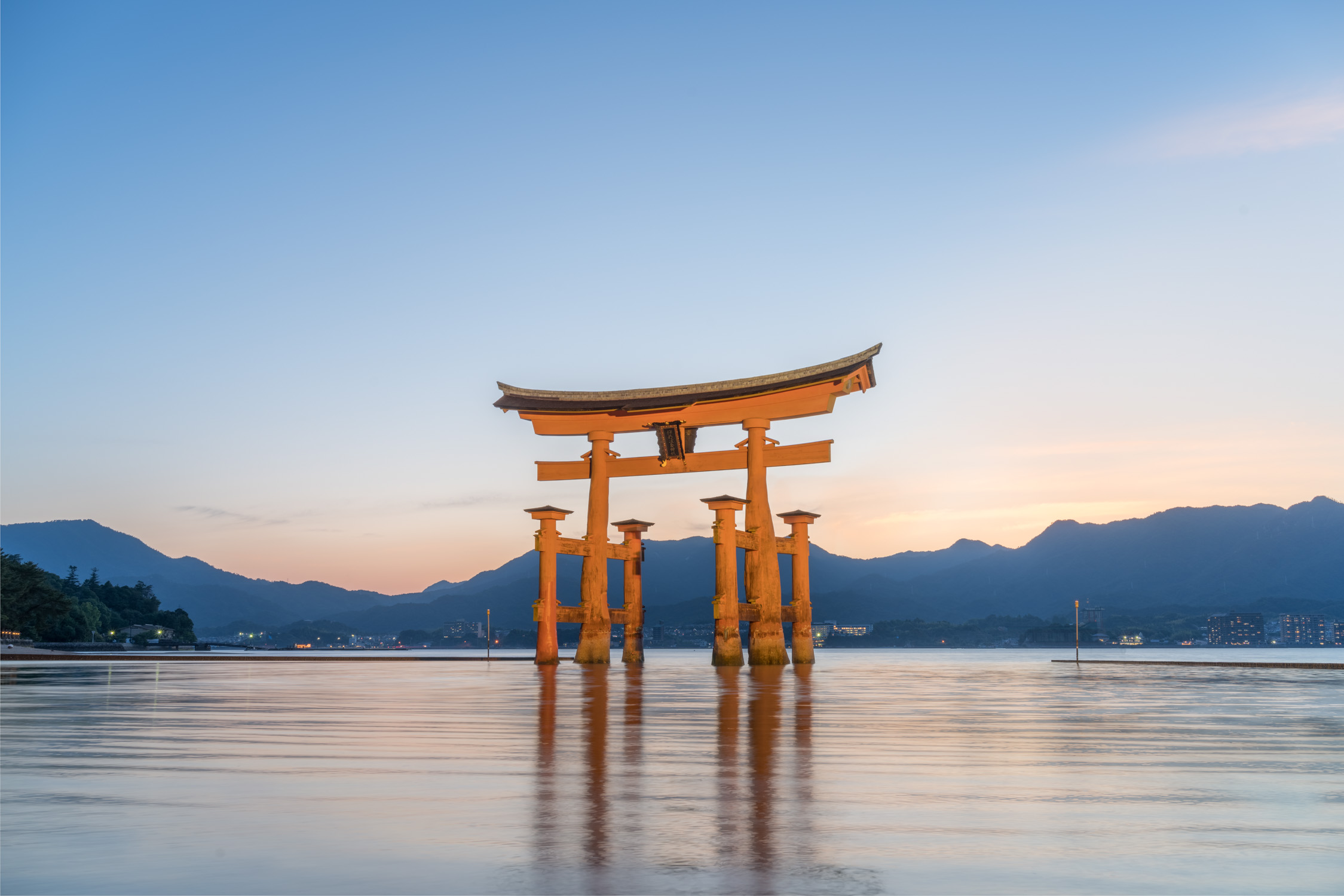 Miyajima at sunset [David Tan]