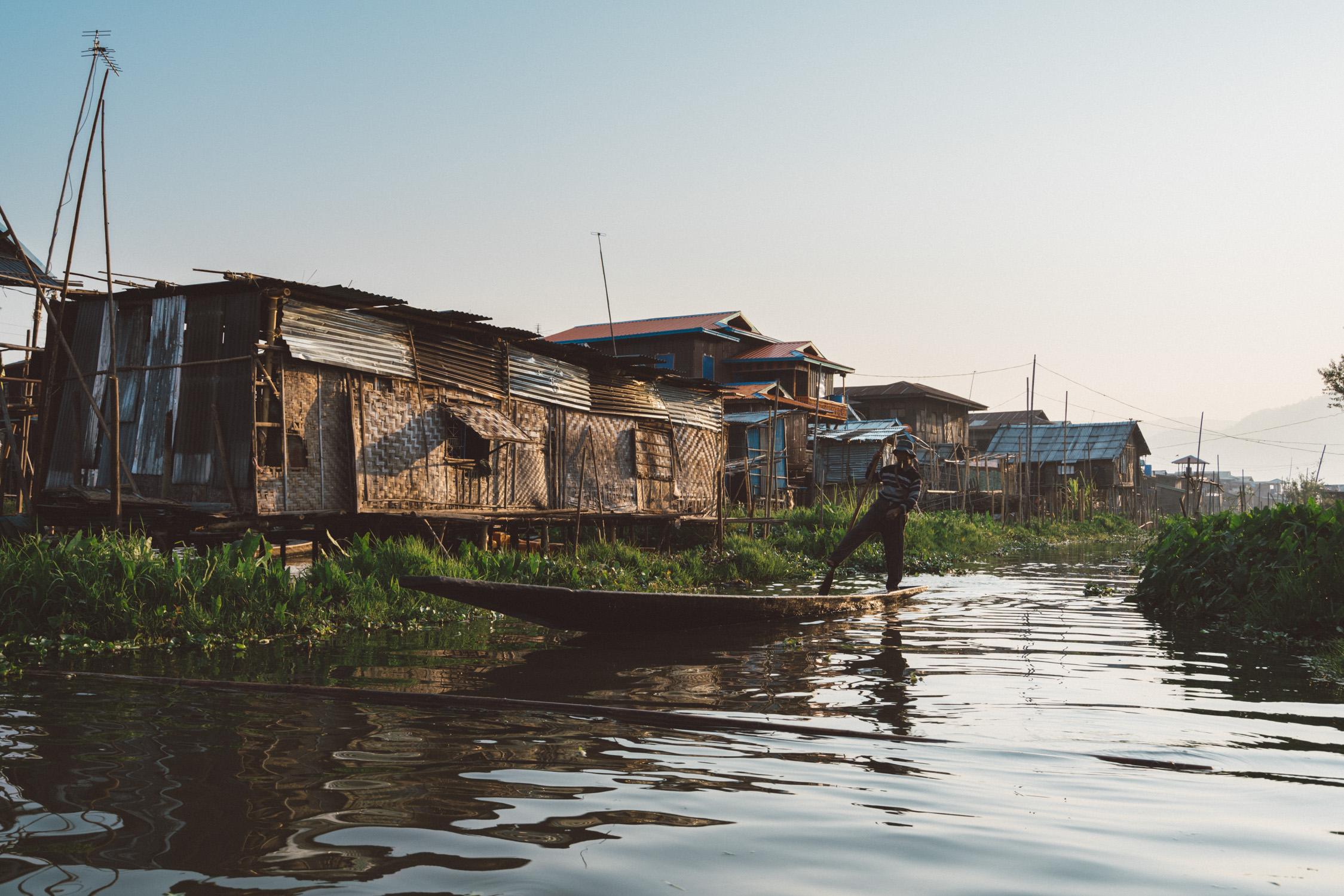 Village in Inle Lake Burma [David Tan]