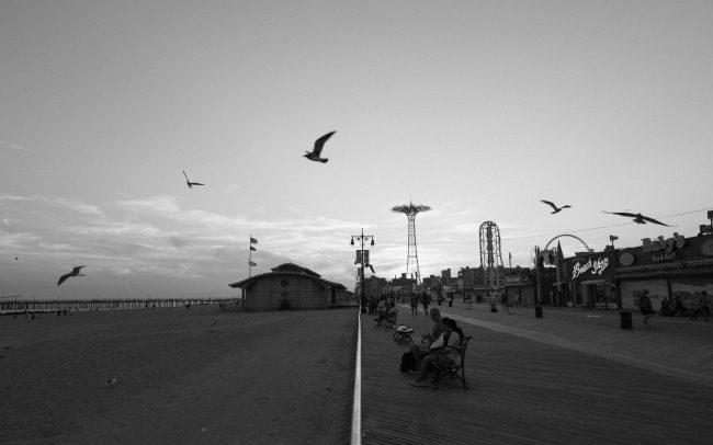 Coney island black and white [David Tan]