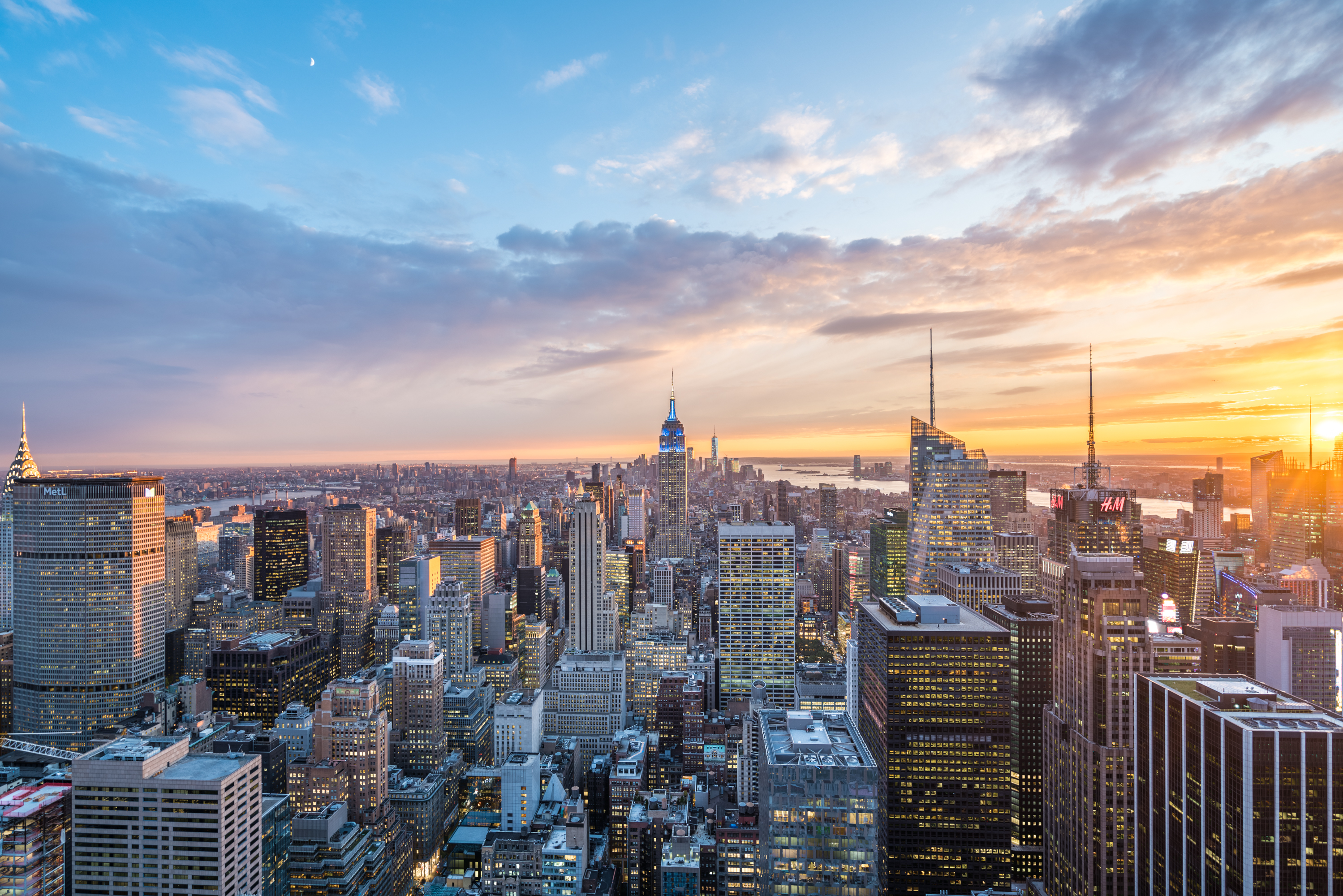 view From the Rockefeller Centre New York [David Tan]