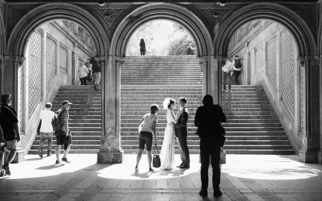 wedding central park [David Tan]
