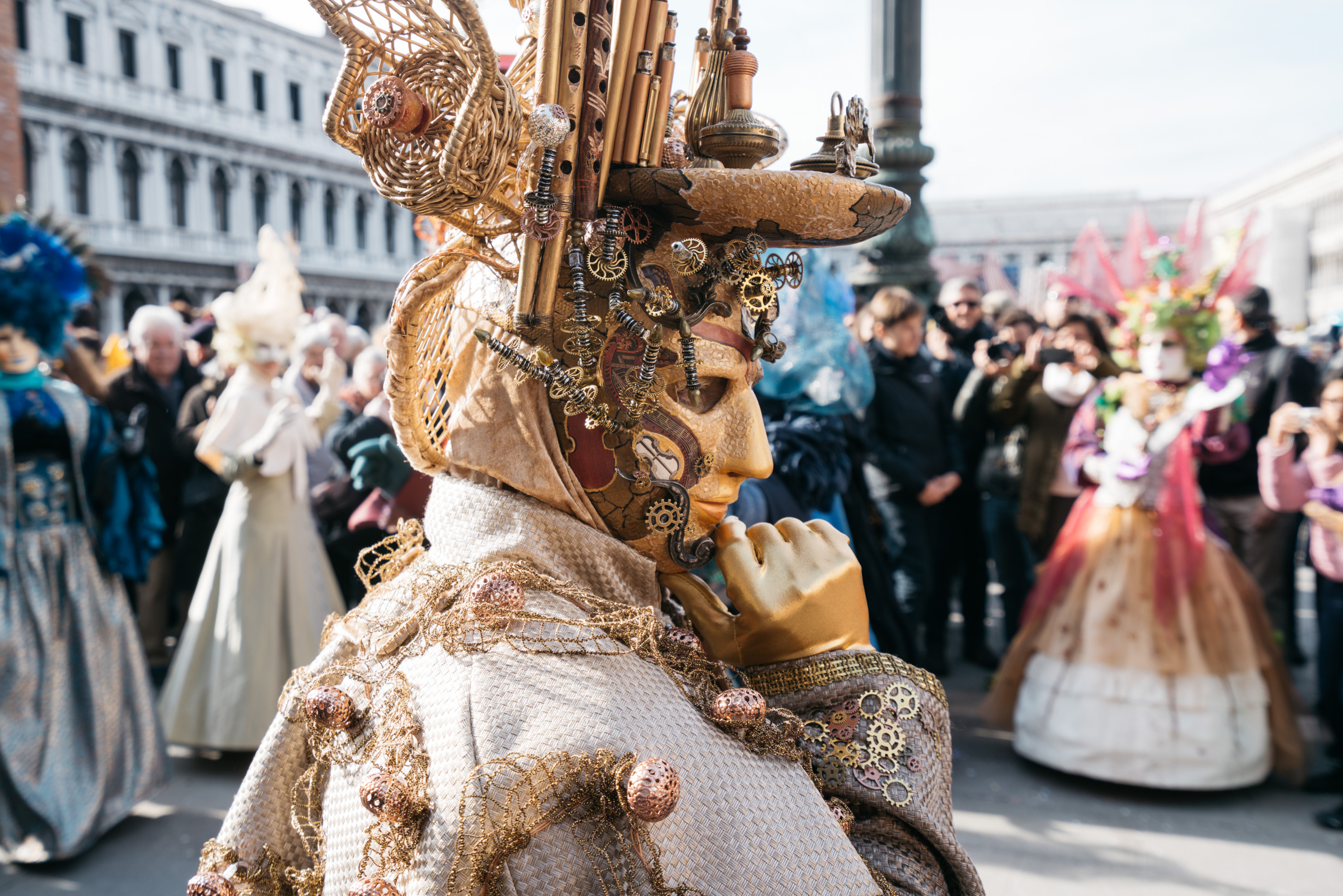Mask Carnaval in Venice [David Tan]